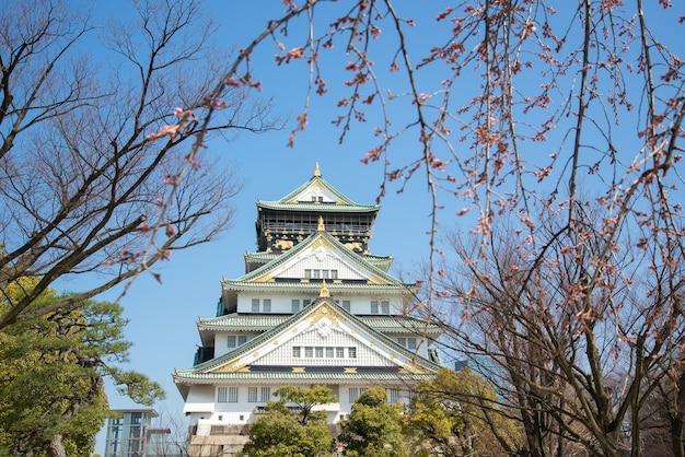 Castello di osaka a matsumoto, in giappone