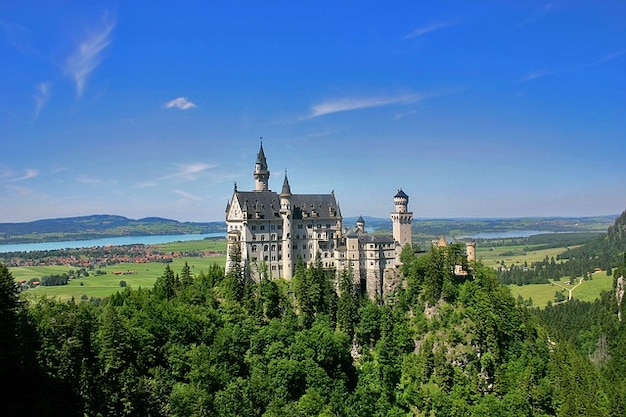Castello germania neuschwanstein baviera
