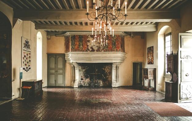 Castello in francia rurale