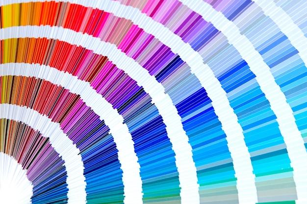 Catalogo colori campione