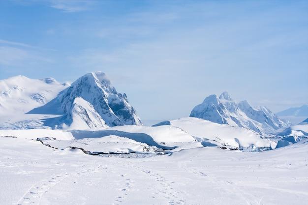 Catena montuosa antartica