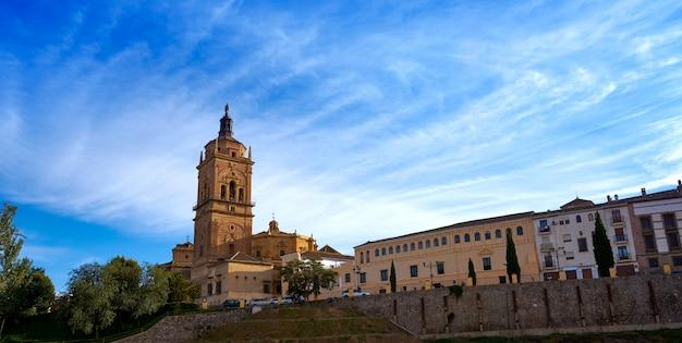 Cattedrale di guadix a granada in spagna
