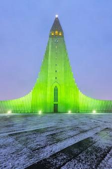 Cattedrale di hallgrimskirkja islanda