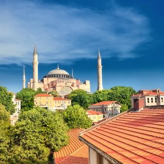 Cattedrale di santa sofia, istanbul, turchia