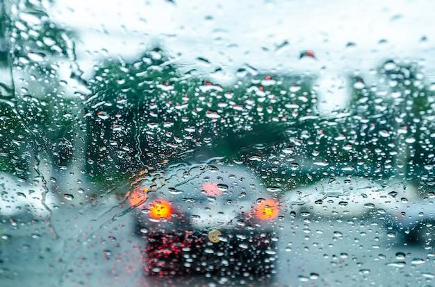 Cattiva visione a piovere