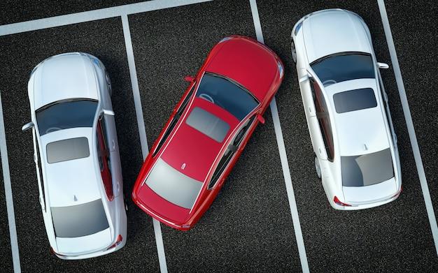 Cattivo driver sul parcheggio