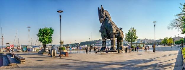 Cavallo di troia a canakkale, turchia