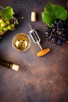 Cavatappi d'uva, vino e vintage