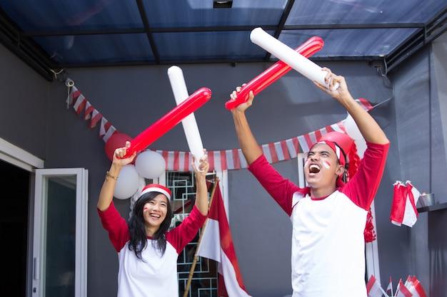 Celebrazione della festa dell'indipendenza indonesiana