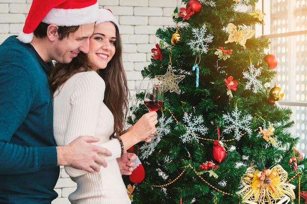 Celebrazione natalizia delle coppie.