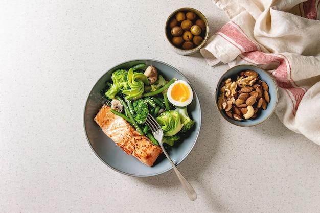 Cena dietetica chetogenica
