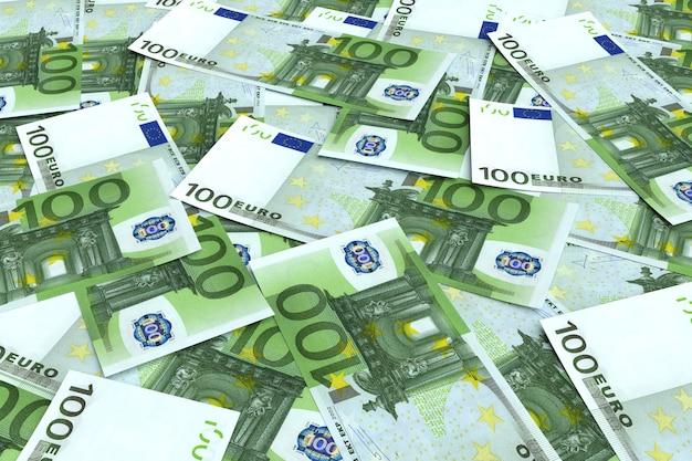 Cento banconote in euro