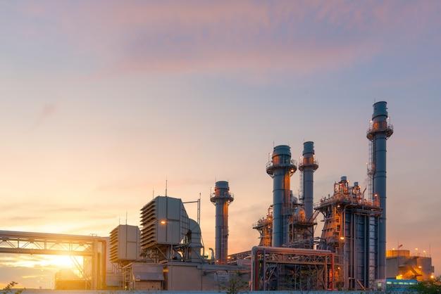 Centrale elettrica elettrica della turbina a gas di industria