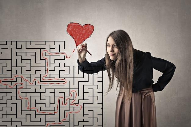 Cercando di trovare l'amore