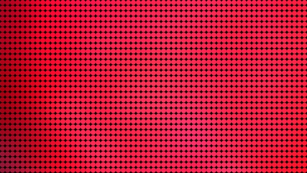 Cerchio rosso dot pattern di sfondo