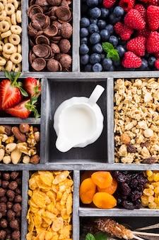 Cereali per la colazione veloce