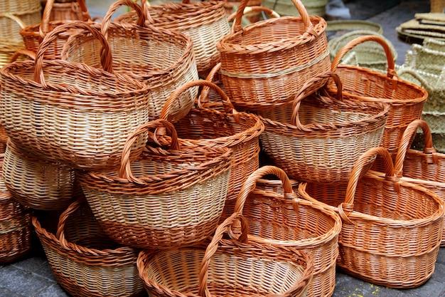 Cestini di vimini spagna cestini di sparto enea