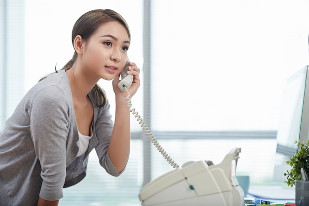 Chiamando al telefono