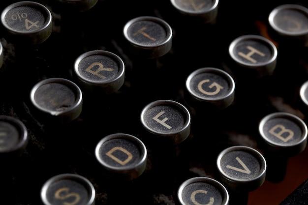 Chiavi antiche macchina da scrivere