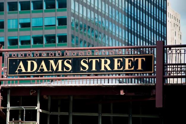 Chicago, adam street bridge