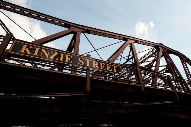Chicago, kinzie street bridge