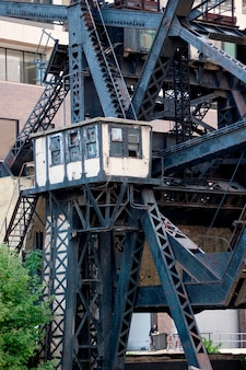 Chicago, railroad drawbridge