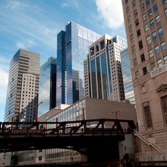 Chicago, washington boulevard bridge