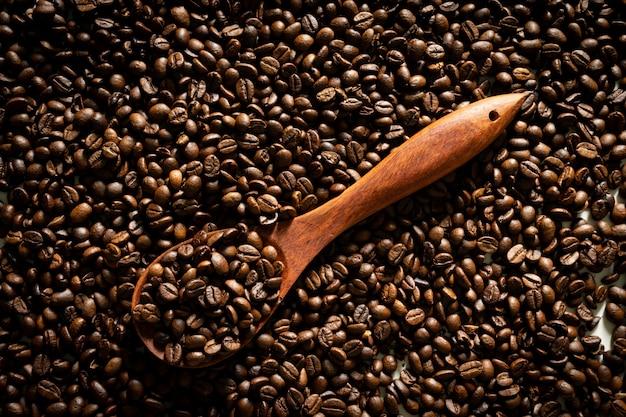 Chicco di caffè come sfondo