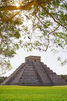 Chichen itza el templo tempio di kukulcan