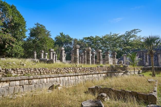 Chichen itza mille colonne tempio