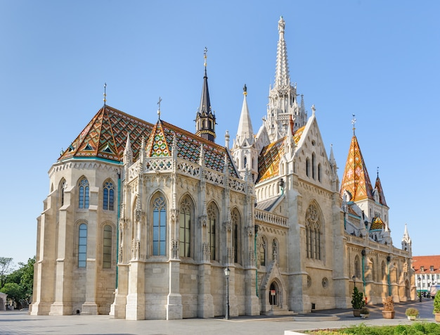 Chiesa di san mattia a budapest