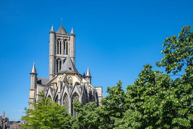 Chiesa di san nicola a gand, in belgio