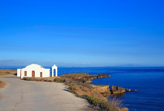 Chiesa di san nicola nell'isola di zante, in grecia