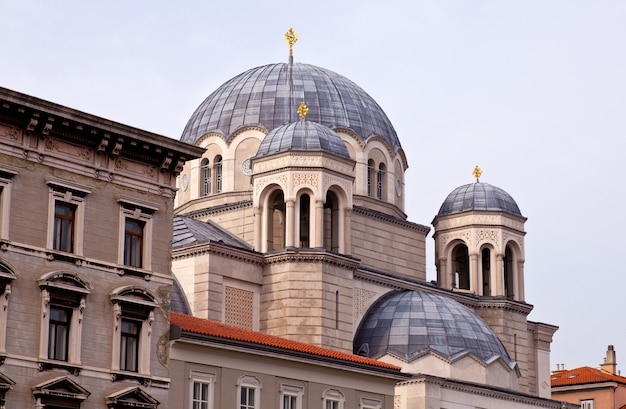 Chiesa ortodossa di san spiridione, trieste