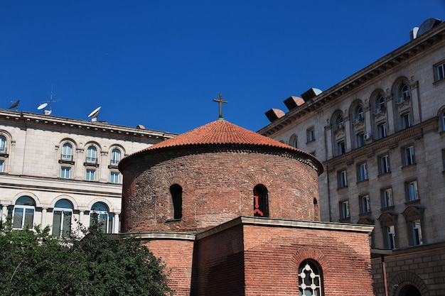 Chiesa rotonda di san giorgio, sofia, bulgaria