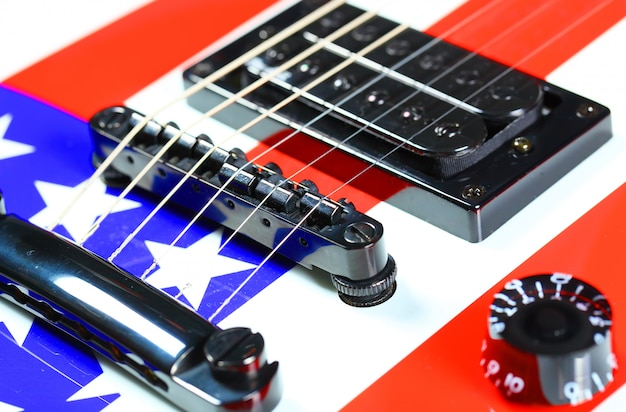 Chitarra elettrica a sei corde chitarra elettrica a sei corde