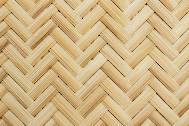 Chiuda in su di bambù tessuto per priorità bassa