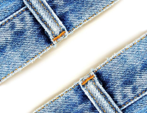 Chiuda sui jeans del denim