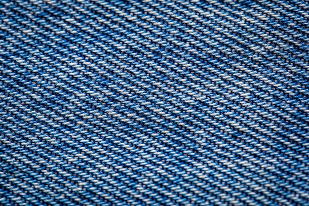 Chiuda sul fondo di struttura delle blue jeans dei dettagli