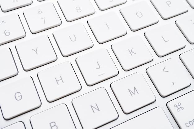 Chiuda sul tasto della tastiera