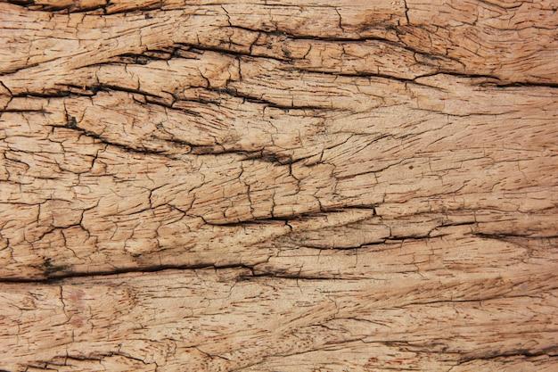 Chiuda sulla vecchia terra posteriore d'annata marrone di legno di viwe superiore