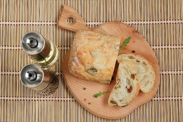 Ciabatta a fette di pane