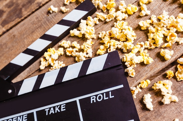 Ciak film e pop corn