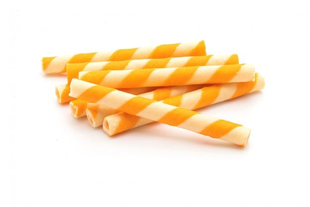 Cialda per biscotti con aroma di crema all'arancia