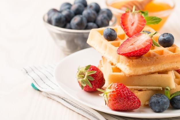 Cialde belghe per colazione