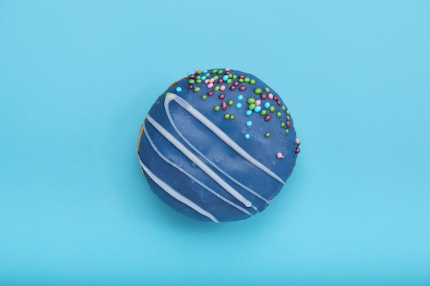 Ciambella dolce blu