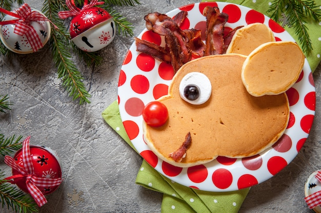 Cibo natalizio per bambini