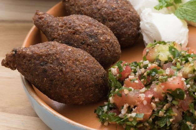 Cibo salutare. cibo mediorientale