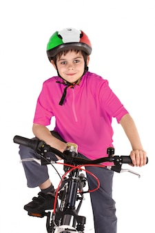 Ciclista nel giro d'italia