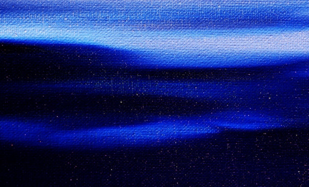 Cielo blu scuro e bianco della pittura a olio con il fondo dell'estratto della nuvola.